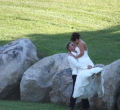 Outdoor Minnesota Wedding venue